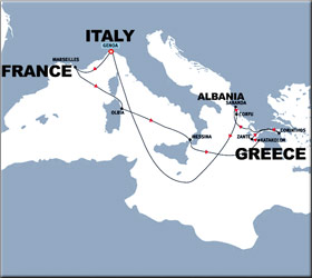 Map Of Italy Greece And Turkey.8 Day Cruise To Italy And Greece Italy Greece Cruise